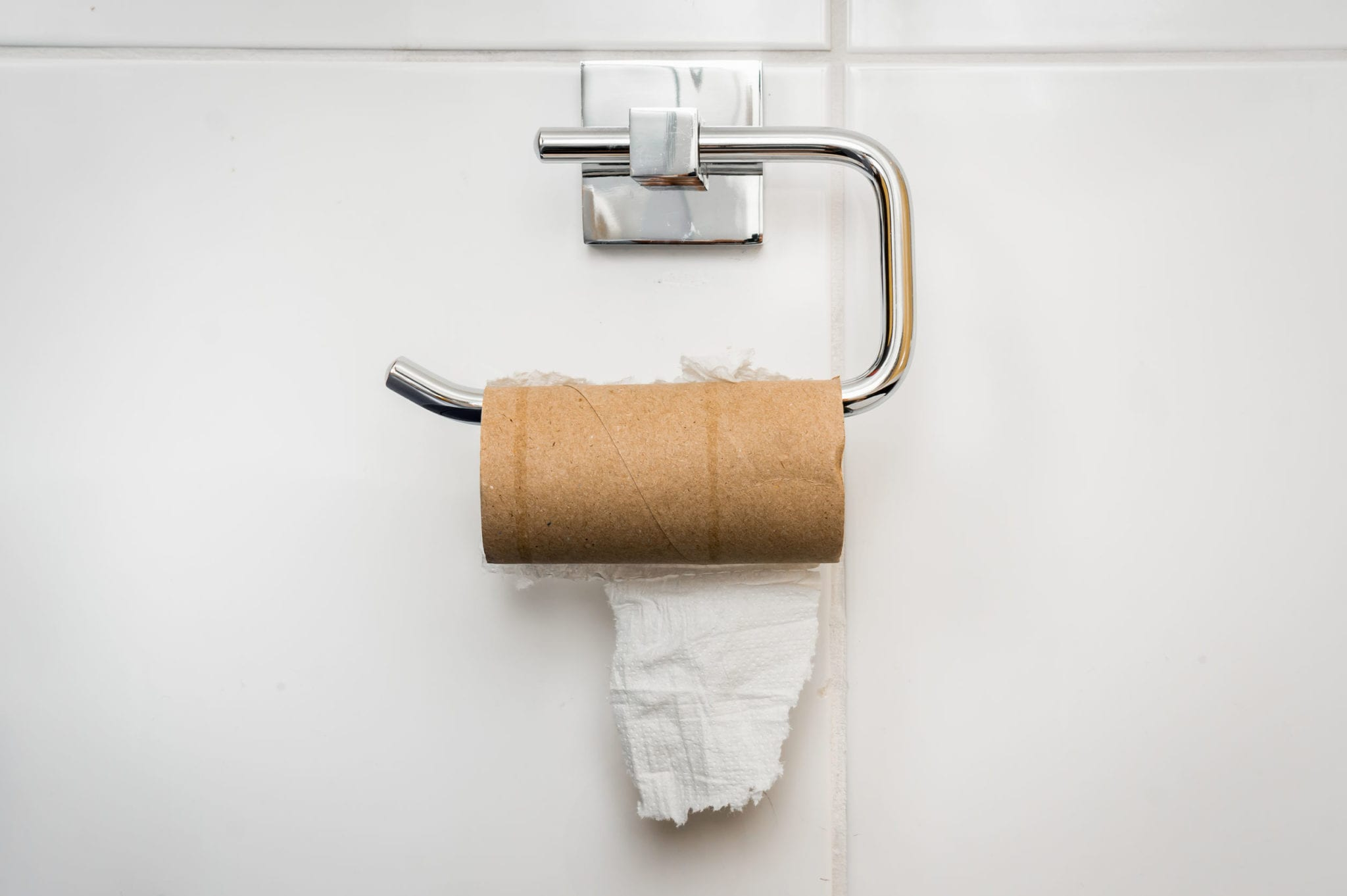 Texans, Don't Try to Steal Toilet Paper from Restaurants