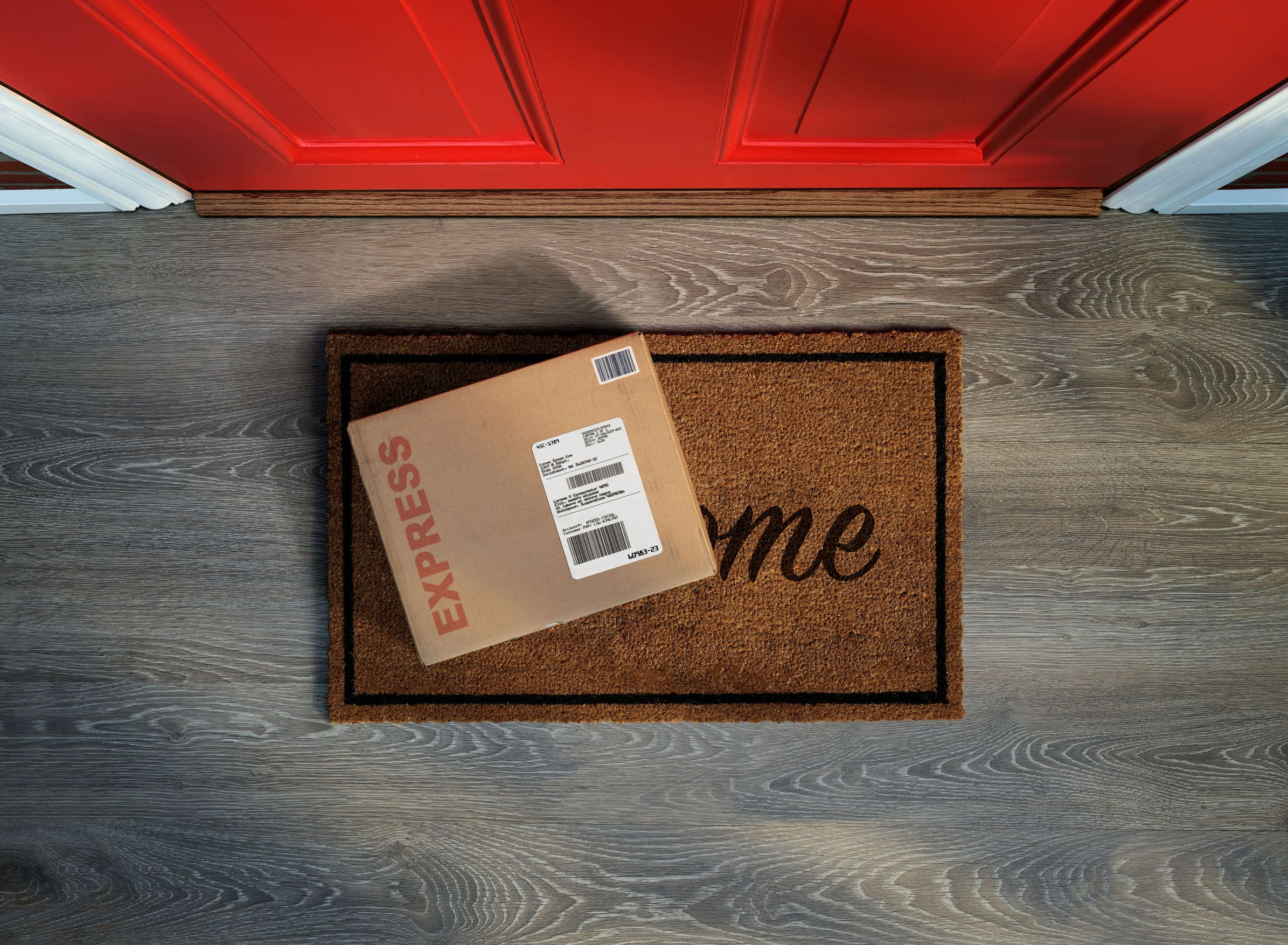 Caught Playing Porch Pirate in Texas?